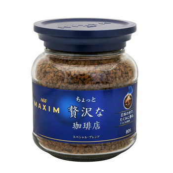 日本AGF MAXIM特級原味咖啡罐80g