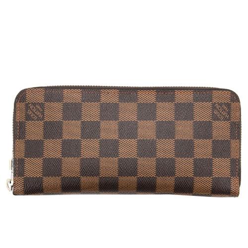 Louis Vuitton LV N61207 Zippy 棋盤格紋多功能拉鍊長夾_預購