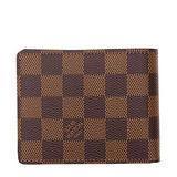 Louis Vuitton LV N61208 Slender 棋盤格紋雙折短夾 預購