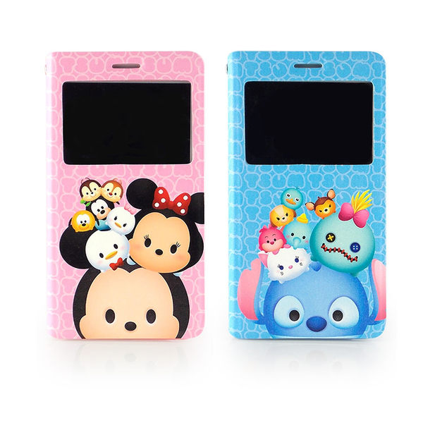 Disney Samsung Galaxy Note 4 TSUM TSUM 透視視窗彩繪