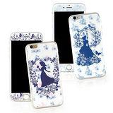Disney iPhone 6 Plus/6s Plus 強化玻璃彩繪保護貼-公主