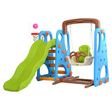 【Baby Safe】三合一多功能鞦韆溜滑梯組