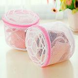【PS Mall】超值5入 內衣專用洗衣袋 折疊式文胸用護洗袋(帶支架) (J021)