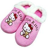 ★新品上市★HELLO KITTY 絨毛室內保暖包鞋《粉紅》成人尺寸