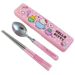 ~Hello Kitty~ 環保餐具組  盒裝 KS~8236