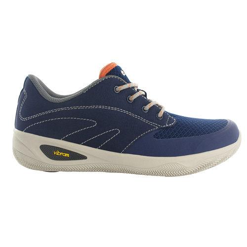 HI-TEC(男款)樂步鞋-V-LITE RIO QUEST I/戶外旅遊休閒健走(藍) O004537031
