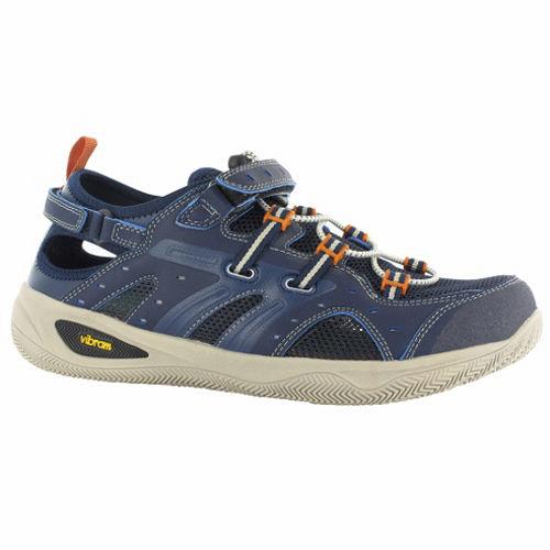 HI-TEC(男款藍)英國戶外黃金大底/輕量水陸護指涼鞋O002971031