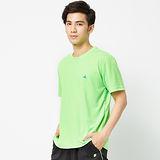 FIVE UP(男)-素面吸排圓領TE-淺綠
