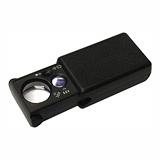 30X+60X抽取型多功能LED照明/驗鈔燈便攜放大鏡