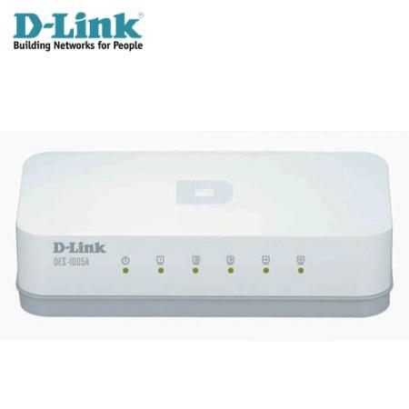 D-Link 友訊 DGS-1005A 5埠GIGA交換器
