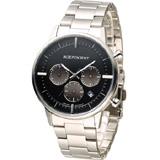INDEPENDENT 潮流玩酷時尚計時腕錶 BR1-811-53