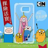 CN卡通頻道授權正版 Samsung Galaxy Note5 探險活寶透明軟式手機殼(公主活寶)