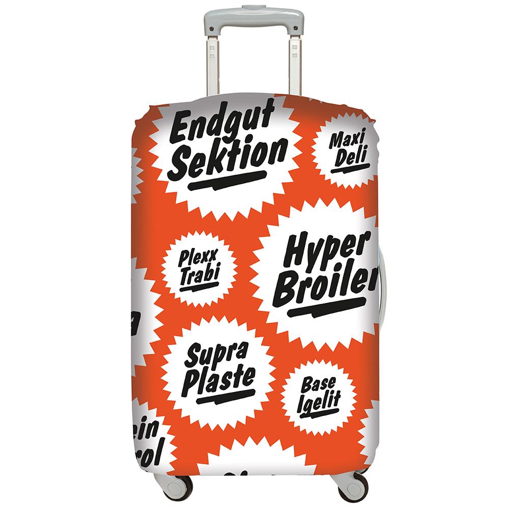 LOQI 行李箱套│復古【L 號】