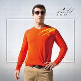 SANTO win-fit 微氣候運動暖衫(長袖)-紅色