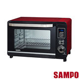 【SAMPO聲寶】 30L微電腦雙溫控烤箱 KZ-PC30F