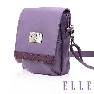 ELLE 法式優雅淑女 收納包/側背包/手機包-淺紫色EL83478-24