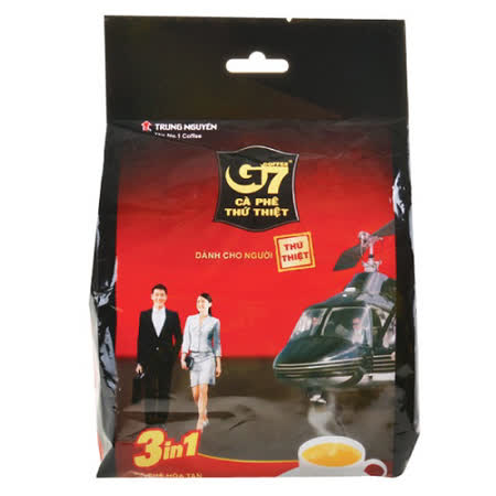 G7三合一 即溶咖啡100包組(2袋)