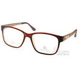 ALAIN DELON 光學眼鏡 AD20262 BR1 (棕-金) 名品時尚法式簡約款 # 金橘眼鏡