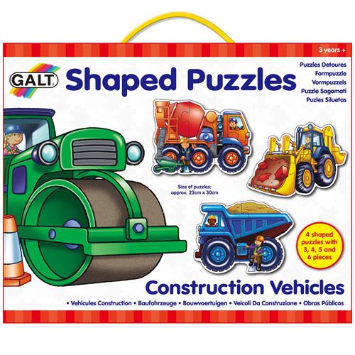 英國GALT造型拼圖-工程車