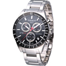 天梭 TISSOT PRS516 時尚三眼計時腕錶 T0444172105100