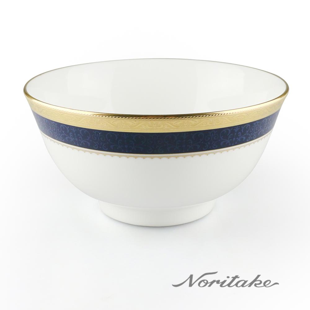 【NORITAKE】金色時光麵碗(16cm)