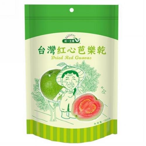 [統一生機]台灣紅心芭樂乾(120g)