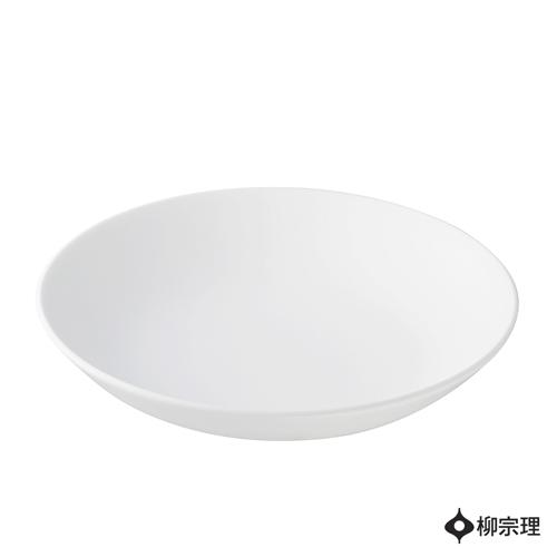 柳宗理-骨瓷寬口圓碗(直徑19cm)