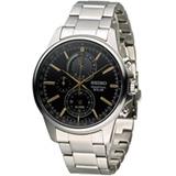 SEIKO SPIRIT 萬年曆多功能計時腕錶 V198-0AC0K SBPJ007J