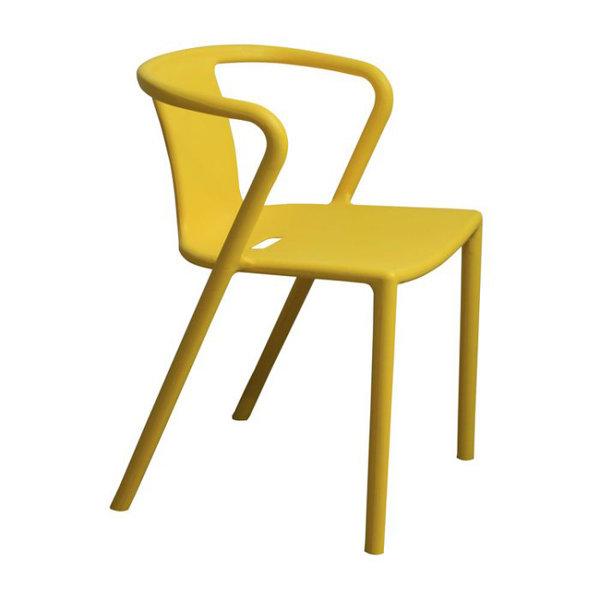 【空間生活】比歐餐椅-兩入(黃*藍*綠*紅*白*黑)