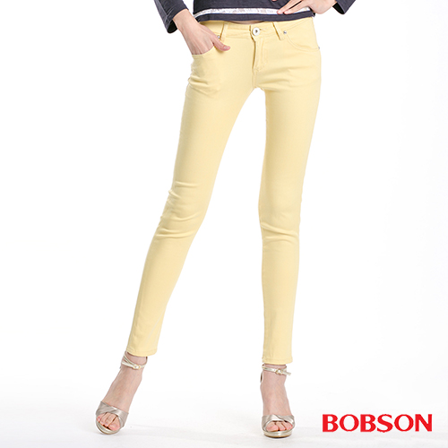 【BOBSON】女款天絲棉超彈緊身褲(8073-31)
