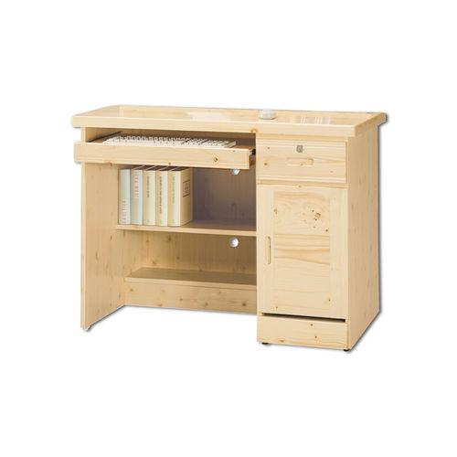 【AS】寇蒂斯3.2尺松木電腦桌