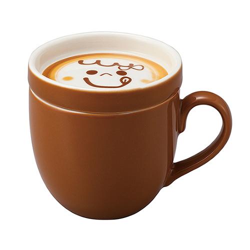 sunart 馬克杯 - 可口奶泡(附蓋)