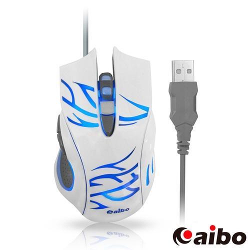 aibo S629 閃靈魔鼠 Spirir 六鍵式高解析有線光學滑鼠 ..