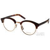 OLIVER PEOPLES 光學眼鏡 MP-15XL 5041 (黑-銀) 俏皮時尚復古眉框款 # 金橘眼鏡