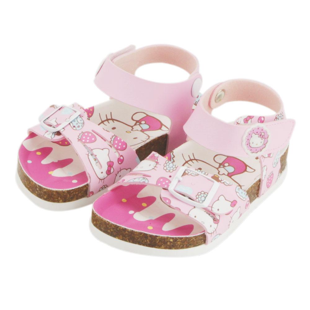 【MODAbobo】Hello Kitty 小中童段 繽紛涼鞋-粉 T5S2-815735