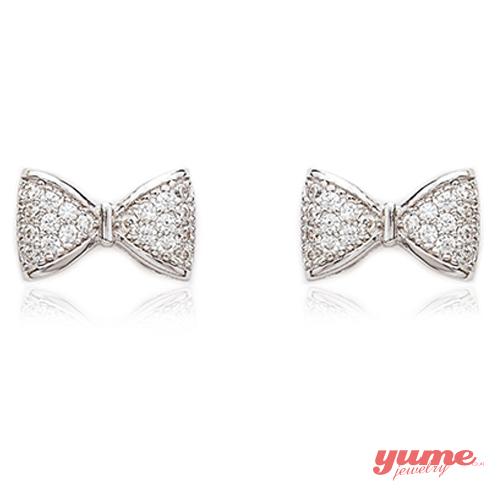【YUME】鑽石結耳環
