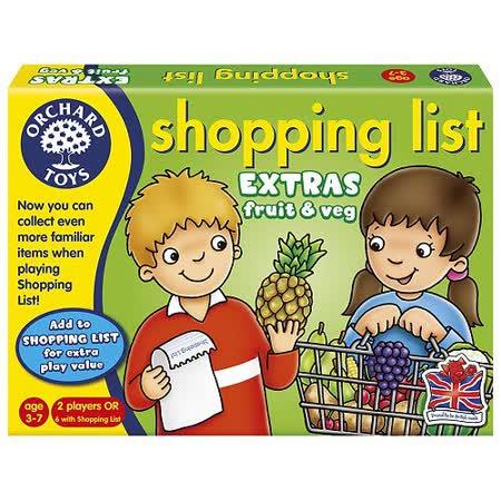 英國Orchard Toys 桌遊-蔬果採買趣
