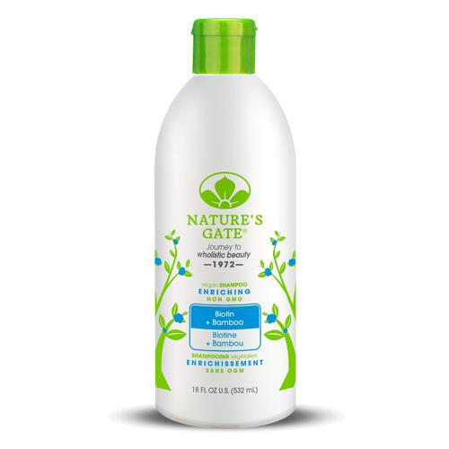 Nature's Gate 經典無基改 雙倍維生素H青竹植萃健髮洗髮精 532mL