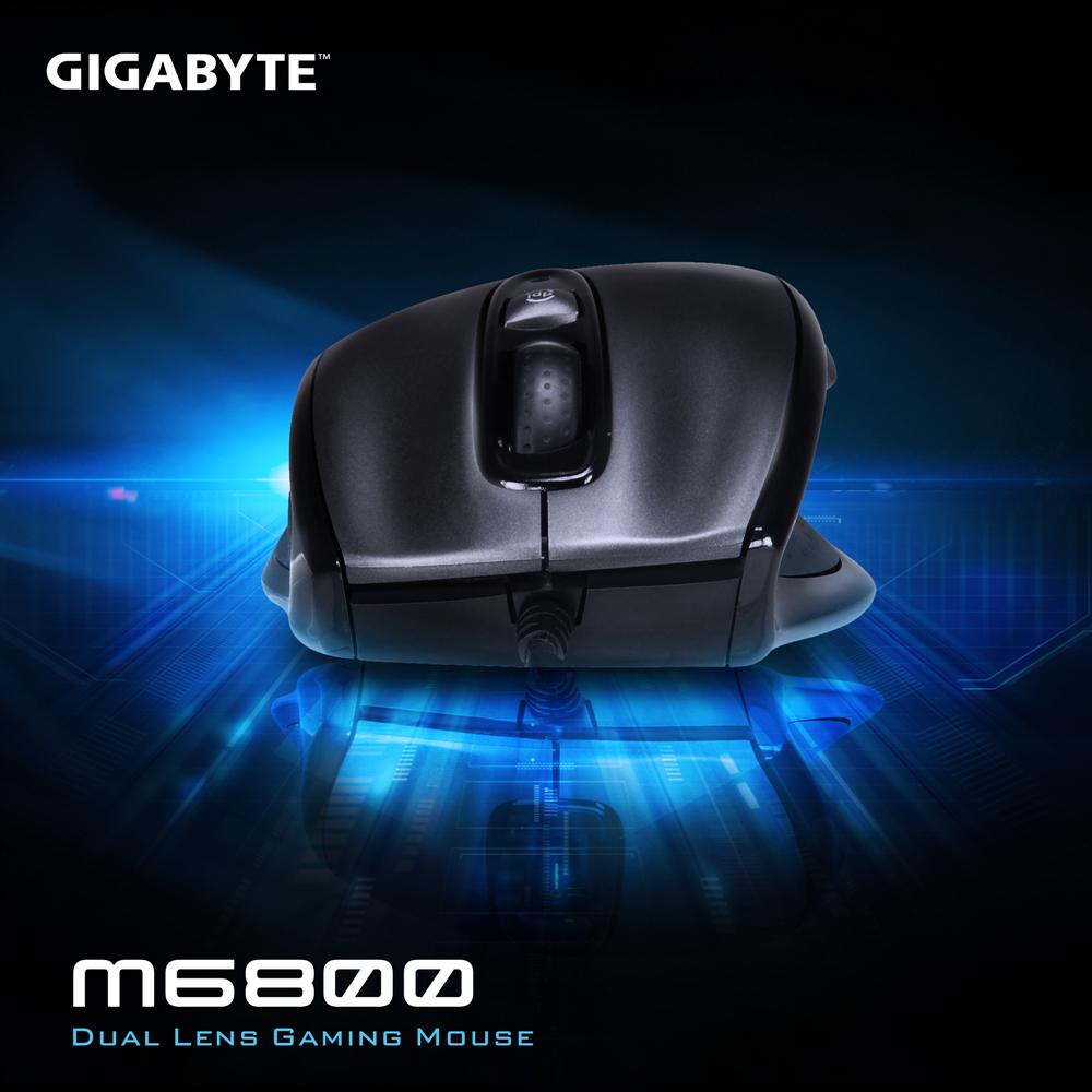 技嘉 GIGABYTE GM-M6800 可變速 電競遊戲滑鼠
