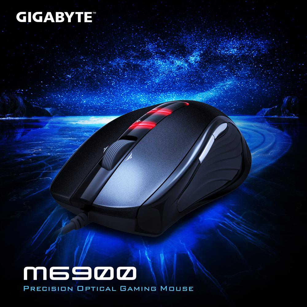 技嘉 GIGABYTE M6900 超精準光學遊戲滑鼠