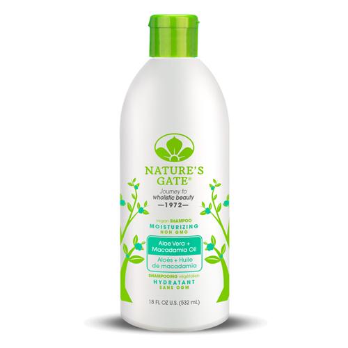 Nature's Gate 經典無基改 雙倍蘆薈夏威夷果油植萃保濕洗髮精 532mL