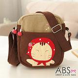 ABS貝斯貓-可愛貓咪手工 小型側背包/肩背包(咖啡)88-163