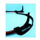 ((眼鏡一族之運動專用眼鏡防滑防護組合包)) 防掉落矽膠眼鏡繩帶運動專用 + 軟矽膠眼鏡防滑耳套 (不易斷裂) 可完善防止眼鏡掉落組合包 LFS022A