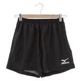 MIZUNO 美津濃 男 運動短褲-黑-J2TB4A5409