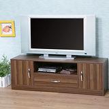《Homelike》清新森林電視櫃-淺胡桃色