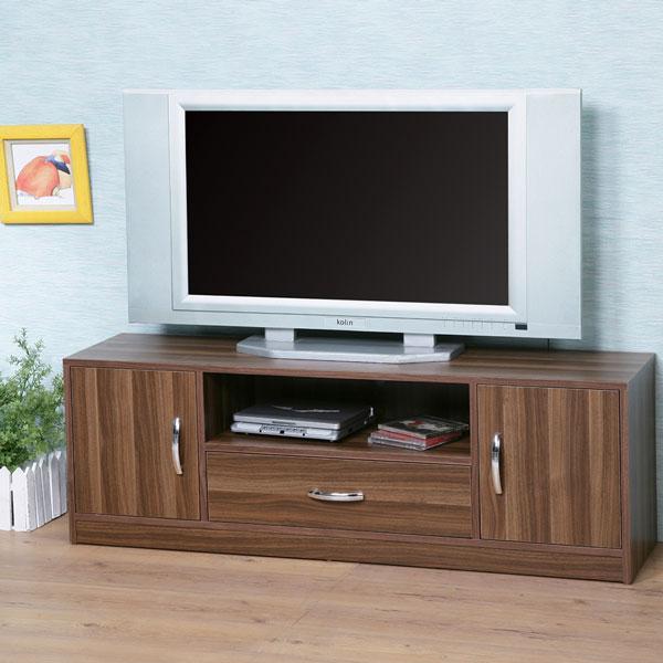 ~Homelike~清新森林電視櫃~淺胡桃色