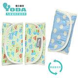 YoDa 和風輕柔日本紗舖棉口水巾-淘氣噗噗車