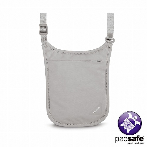 Pacsafe COVERSAFE V75 RFID貼身掛頸暗袋(灰色)