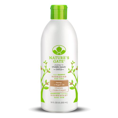 Nature's Gate 經典無基改 雙倍摩洛哥優油大麻籽滋養洗髮精 532 mL(效期至2019.09)