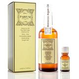 Parfum 巴黎帕芬 經典香水摩洛哥胜肽護髮油100ml(紅玫瑰)+護髮油10ml(隨機)
